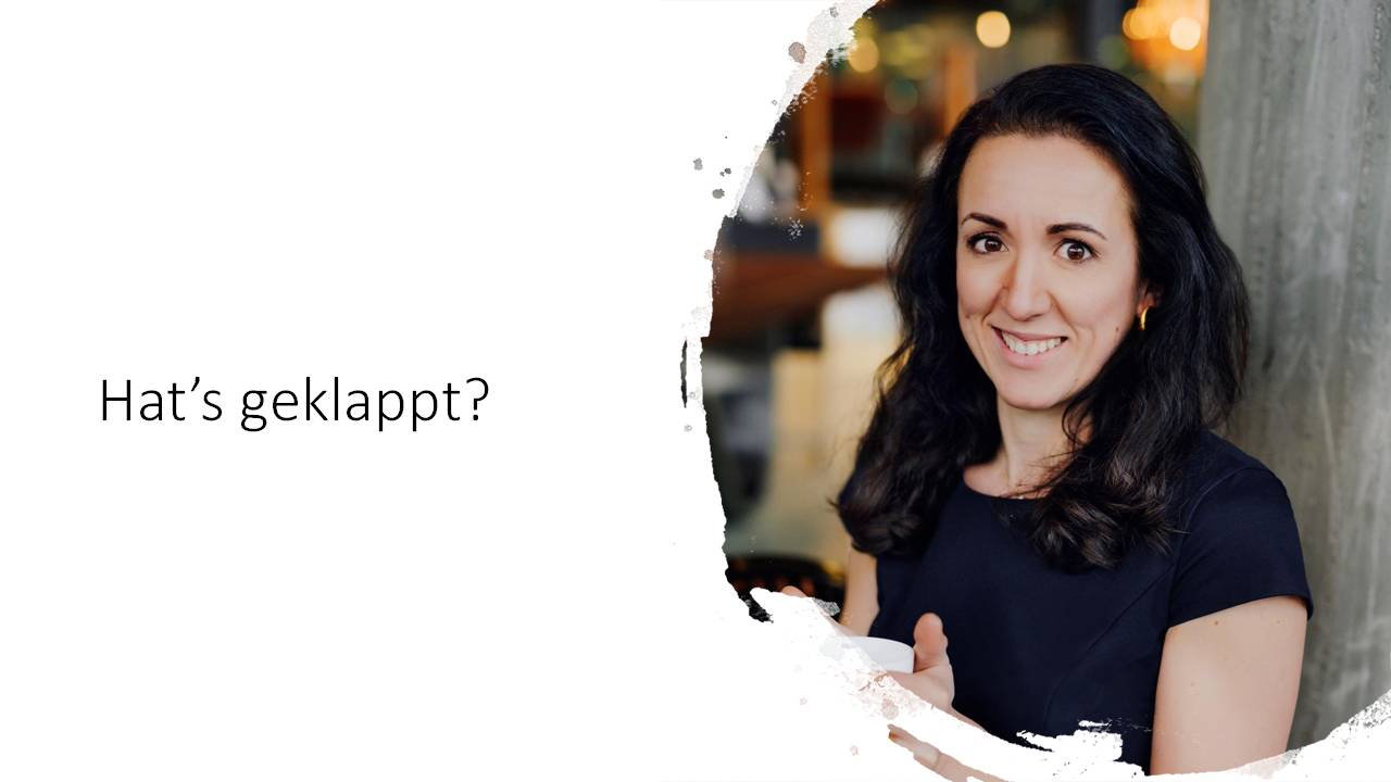 Mariana Traxel hilft Ihnen bei Social selling